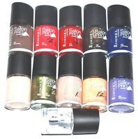 New Set Of 2 Rimmel London Salon Pro Nail Polish With Lycra - Choose Color