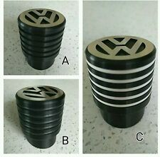 VW T4 Gear Shift Knob Ribbed Black