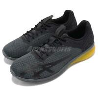 Asics Gel-Kenun 2 Black Yellow Men Running Training Shoes Sneakers 1021A050-001