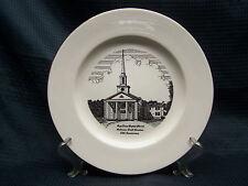 "Pope Drive Baptist Church Anderso South Carolina 25th Anniversary 10"" Plate"