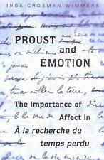 """Proust and Emotion: The Importance of Affect in """"A la recherche du temps perdu"""""""