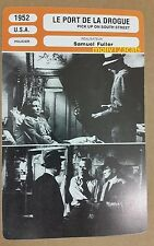 US Cold War Spy Film Noir Pick Up On South Street French Movie Trade Card