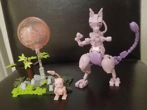 Mega Construx Pokémon Mewtwo Vs Mew Near Complete Set