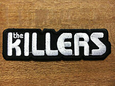 New THE KILLERS Embroidered Rock Band Iron On or Sew On Patch UK SELLER Patch