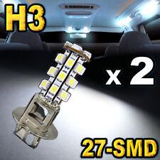 Pair H3 27-SMD Super Bright White LED Driving Fog Lights .