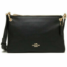 Coach Mia Crossbody Classic Purse Shoulder Bag - Black