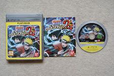 Naruto SHIPPUDEN ULTIMATE NINJA STORM 2 PS3 - 1st Class spedizione gratuita nel Regno Unito
