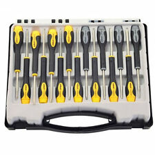 Pro Quality 15PC small PRECISION SCREWDRIVER case SET philips slotted star DELUX