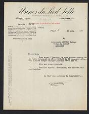 FUMAY (08) FONDERIE DU PIED-SELLE , TOLERIE / APPAREILS de CHAUFFAGE en 1937