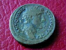 ROMAINE/ ANTONIN LE PIEUX 138-161. SESTERCE. R/ LA SANTE. ROME 146. ***R1***