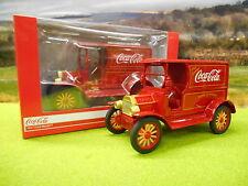 Officiel COCA COLA Diecast 1917 Ford Modèle T Coke Delivery Van 1/24 Boxed & NEW