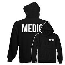 Medic Sudadera Con Capucha, Médico Cuidado de la Salud Top Sudadera Con Capucha Ropa de trabajo