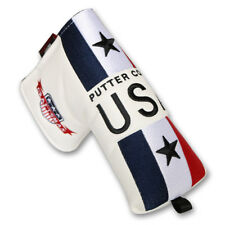 Whie Golf Blade Putter Headcover For Scotty Cameron Ping Odyssey Magnetic USA