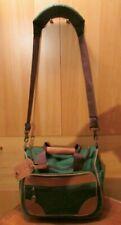 Vintage L.L. BEAN Nylon & Leather Shoulder Travel Bag (2 of 2)