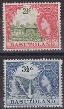 b327) Basutoland. 1961/63. MM. SG 72a, 73  New Currecy Royalty c£21+