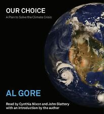 NEW Our Choice: A Plan to Solve the Climate Crisis by Albert Jr. Gore Compact Di