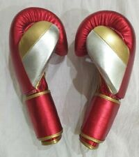 New Custom Made Leather Boxing Gloves Any logo R Name, inspired by winning grant