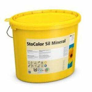 Sto Sil Mineral Weiß 4 Eimer 15Liter-Neu,Innenfarbe,Wandfarbe,Profi,Innensilikat