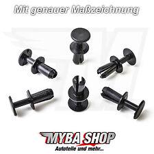 10x spreiznieten clip rivestimento interno per Mercedes Benz a1409900592