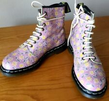 Vintage Dr Martens 1460 pink leather boots UK 6 EU 39 Made in England