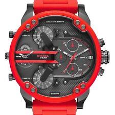 orologio cronografo DIESEL DZ7370 Mister Daddy 2.0 - Acciaio Rosso - 4 Tempi