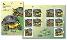 CANADA 2019 Endangered Turtles: stamps - Booklet of 10 issue date 23-5-19