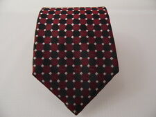TIES CLUB SILK TIE SETA CRAVATTA MADE IN ITALY  A3996