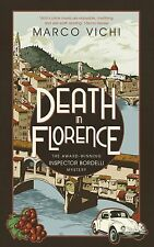 DEATH IN FLORENCE by Marco Vichi : WH4 : HB292 : NEW BOOK