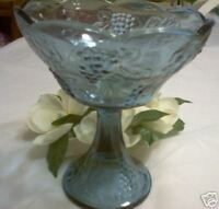 NOS TIARA Premier Harvest Fruit Bowl Footed Compote Bowl
