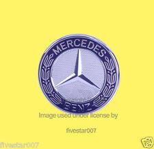 GENUINE MERCEDES Front Hood Upper Emblem Sign Badge Logo cLs cLk gLk C E R CLAss