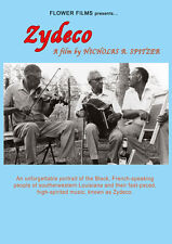Zydeco DVD 1984 Nick Spitzer Flower Films Documentary