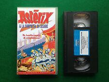 VHS - ASTERIX & LA SORPRESA DI CESARE (1985) 860536EVV