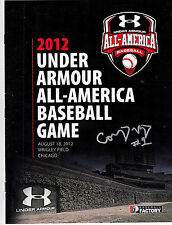 Corey Ray Signed 2012 Under Armour Baseball All American Game Program
