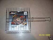 Harpco Flat Broiler Hambuger Basket Chrome 10.5 x 11.5