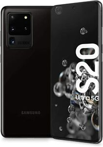 Samsung Galaxy S20 Ultra 5G Factory Unlocked 128GB SM-G988U1 Cosmic Black A+