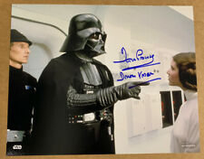 More details for autographed star wars dave prowse darth vader 8x10 hand signed picture 3