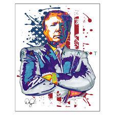 Donald Trump 2016 45th POTUS Republican Political 11x14