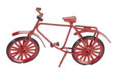Fahrrad Mini rot Gutschein Geld Geschenk Weihnachten Modell  ca. 9,5 x 6 cm