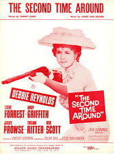 THE SECOND TIME AROUND Music Sheet-1960-DEBBIE REYNOLDS