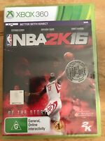 NBA 2K16 (Microsoft Xbox 360) NEW SEALED BETTER WITH KINECT