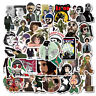 50Pcs Classic Movie Vinyl Stickers Decals for Laptop Skateboard Luggage Graffiti