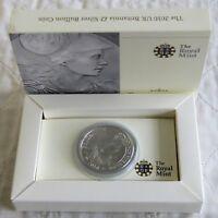 2010 £2 SILVER BRITANNIA IN ROYAL MINT PRESENTATION BOX WITH COA