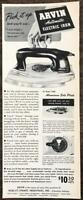 1946 Arvin Automatic Electric Iron Print Ad Noblitt-Sparks Columbia Indiana