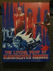 The Living Dead At Manchester Morgue Steelbook Blu Ray/Dvd/CD 6000 Peice 3 Disc