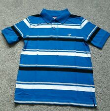 Wrangler Boys&Teens Striped Polo Shirts.100% COTTON. Size 14-16 YEARS. BRAND NEW