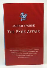 JASPER FFORDE The Eyre Affair UK 1st/1st Signed HB/DJ