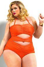 Costume Da Bagno Monokini Taglie forti Grandi Curvy Formosa Plus Size XXXXXL.