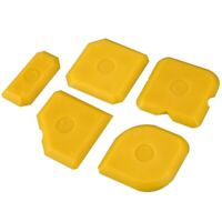5Pcs Scraper Tool Kit Grouting Set Smoothing Trowel Grout Remover Silicone  T6O6