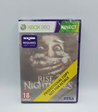 Rise of NightMares XBOX 360 PROMOTIONAL COPY NOT FOR RESALE NeuF