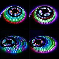 LED Strip Light 30/M 60/M 12V 5M 5050 WS2811 RGB Dream Color Multicolor 150/300